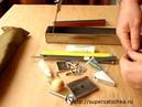 Комплектация сборка точилки Строгова. Installation of the grinding system