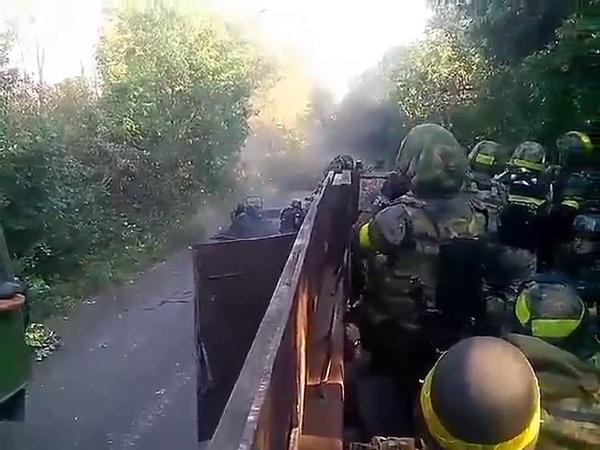 Штурм Иловайска Позывной «Разведка» мочит с ЗУшки