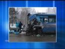 Крупная авария: колпашевский автобус, следовавший в Томск, столкнулся с грузовиком. Водители погибли. 13 человек, в числе которы
