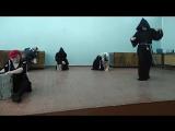 Первая репетиция сцены Распутин.Пробуждение тёмных сил