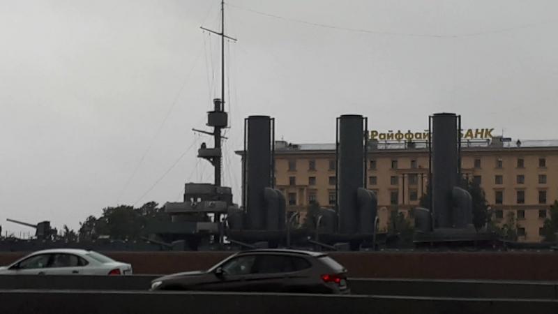 Санкт-Петербург, Крейсер АВРОРА 21.06.2018 » Freewka.com - Смотреть онлайн в хорощем качестве