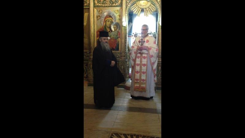 отец Иоанн и Святогробец отец Евсевий