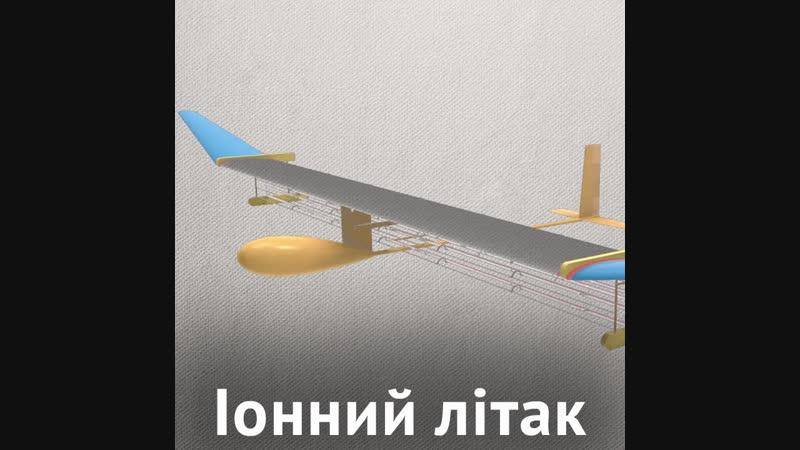 Літак з іонними двигунами