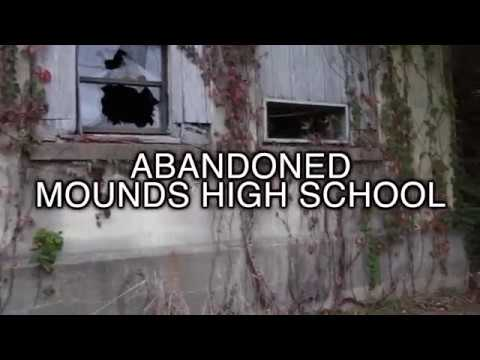 Abandoned Mounds High located in Mounds Illinois.
