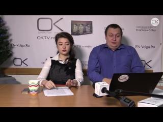 Единоросс зачитал рэп картонной коробке - Утро на ОКТВ | 22 декабря