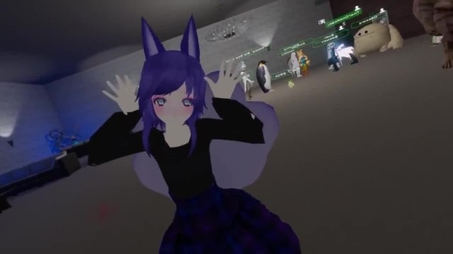 Woops I'M A CUTE ANIME GIRL VRChat
