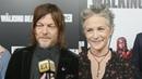 The Walking Dead Melissa McBride and Norman Reedus React to Carol Ezekiel's Romance Exclusi…
