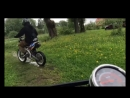 Покатушки с пацанами на питбайке и на квадроцикле