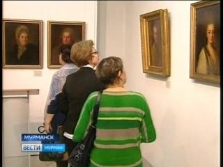 В мурманском выставочном центре открылась экспозиция Три великих портретиста