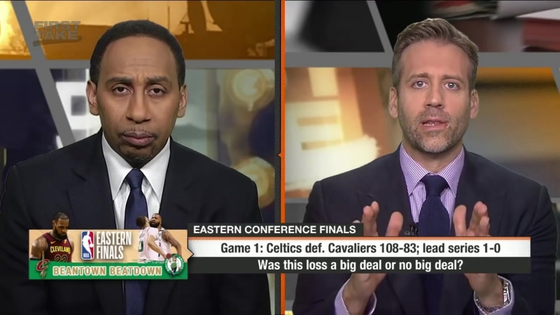 Stephen A. and Max react to Celtics defeating Cavaliers in Game 1 - First Take - ESPN