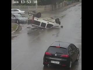 Водителю очень повезло!..