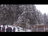 Зимняя прогулка по Охта-Парку