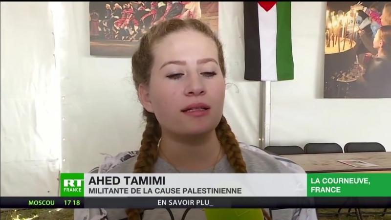 Licône de la cause palestinienne Ahed Tamimi appelle au boycott dIsraël (ENTRETIEN EXCLUSIF)