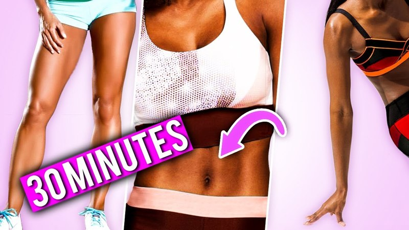 BIKINI WORKOUT (ABS, LEGS, ARMS) | Get Your 2018 Summer Body FULL Guided Workout