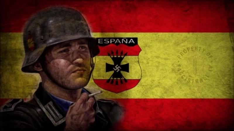 DIVISIÓN AZUL Canción del Frente Ruso - Spanish Blue Division Song