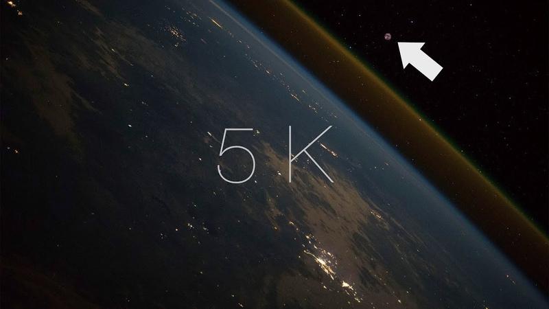 Así se ve un LANZAMIENTO de COHETE desde el espacio (Progress MS-10)
