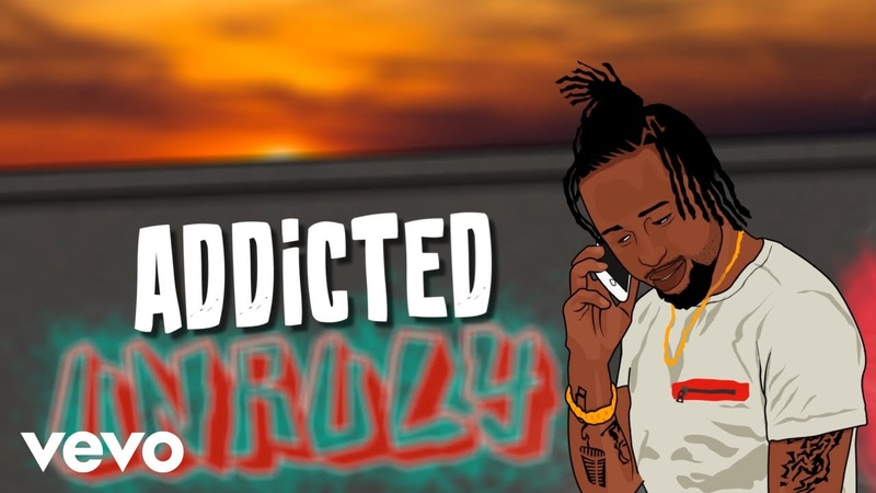 Popcaan - Addicted (Lyric Video)