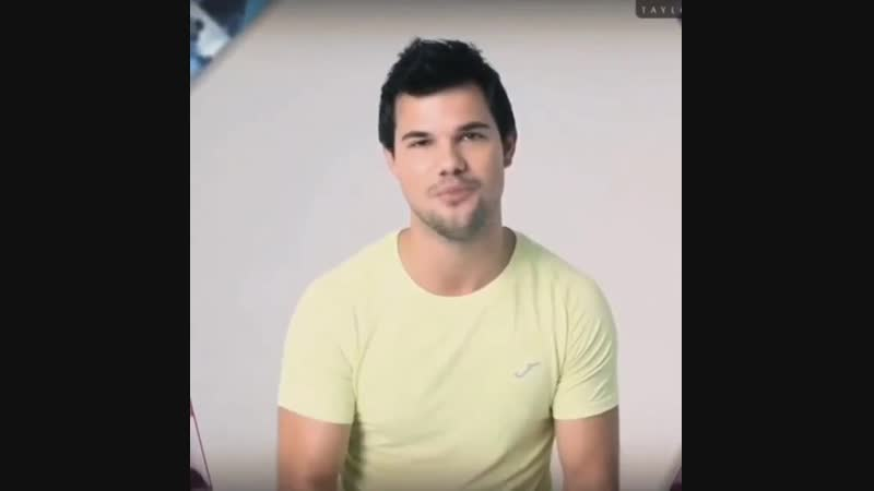 Taylor Lautner for JOMA