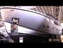 2018 San Lorenzo SX88 Super Yacht - Hull Walkaround - 2018 Boot Dusseldorf Boat Show