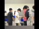 180727 Baek Chan Sehun in airport