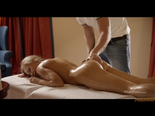 MASSAGE AND GOT A DICK IN THE ACE [Big Ass, Babe, Blowjob, Pornstar, Anal, Massage, Russian, HD]