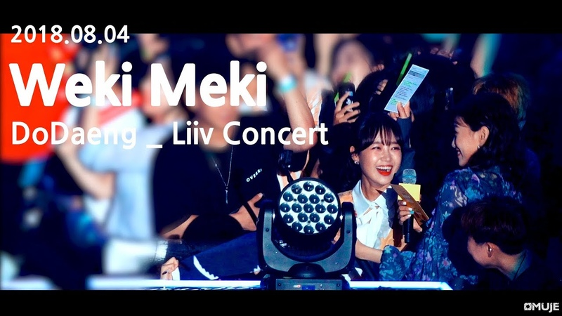 [4K] 180804 위키미키(Weki Meki) _ Dodaeng _ Liiv Concert fancam(30min full cam)