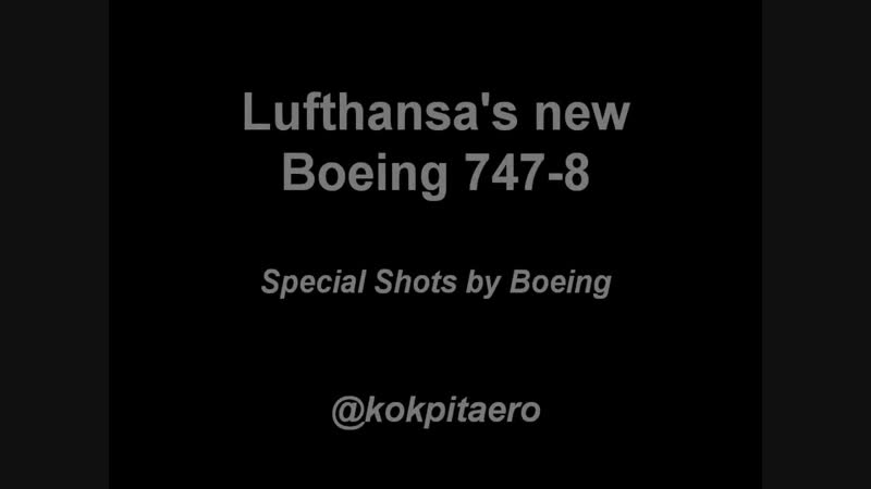 Rejected take off Lufthansa 747 8 HD