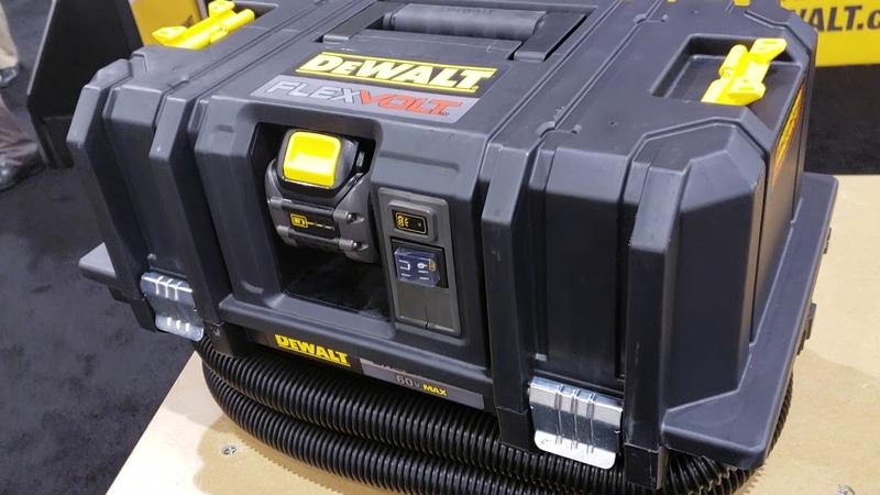 Quick reviews of the new Dewalt Flexvolt Dust Extractor