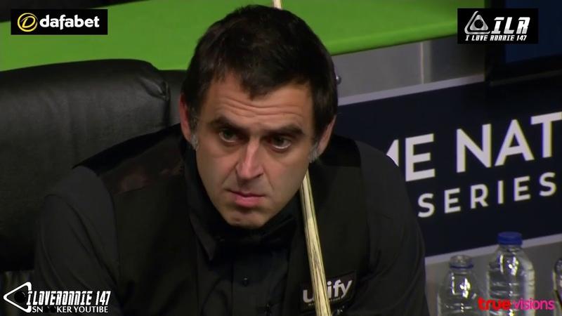 Ronnie O'Sullivan vs Soheil Vahedi รายการ Northern Ireland Open 2018 รอบ128