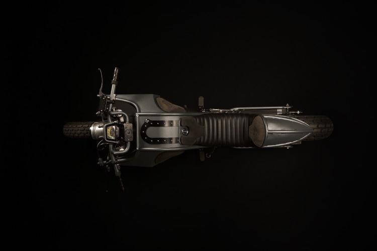 Atelier Medusa: кастом Yamaha TW125 Tank
