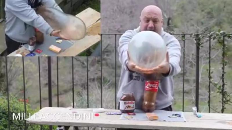 Кока-кола ментос презерватив