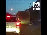 В Кирове автобус протащил по улице зажатую в дверях пенсионерку