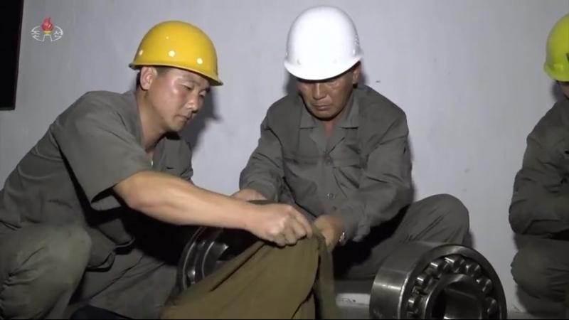 물길굴에 새겨가는 위훈의 자욱 -어랑천4호발전소건설장-