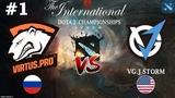 Virtus.Pro vs VGJ.Storm #1 (BO2) | The International 2018