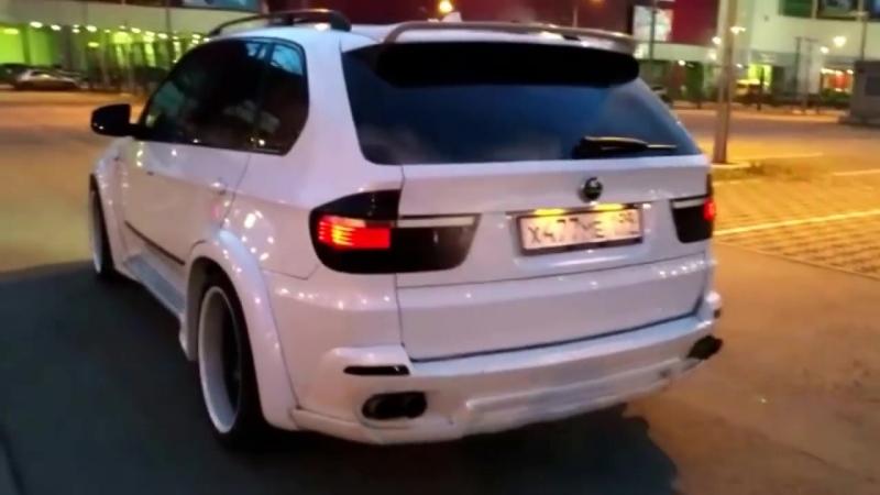 BMW X5 выхлоп Hamann