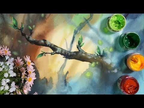 Landscape painting,watercolor,painting,drawing,수채화,풍경화,수채화배우기