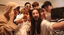 """BTS 방탄소년단 뷔 V🐯 on Instagram: """"💜 BehindTheBTS CONTEST 💜 with @ultramusicofficial Here are some exclusive behind the scenes videos of BTS and Steve..."""