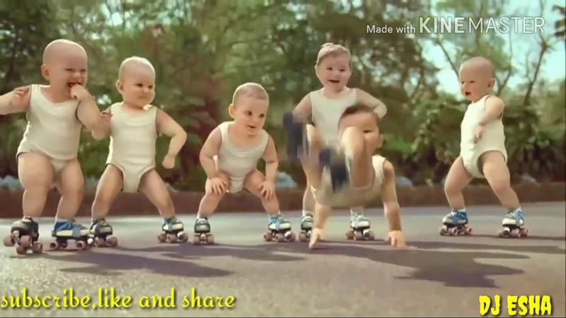 Bayi LUCU...balita dance goyang sampai bodoh REMIX DJ ESHA REMIXE_HD