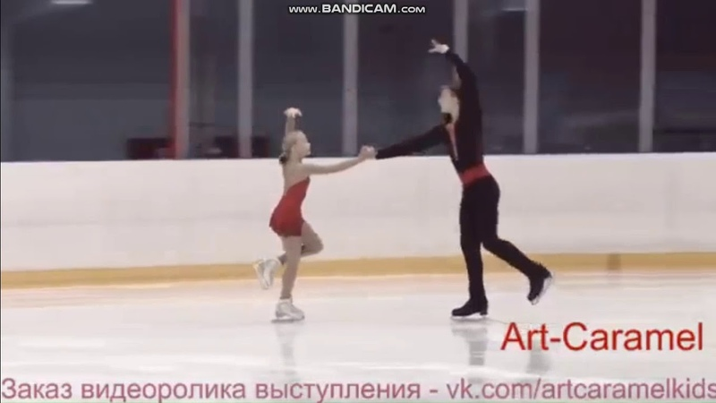 Анна Щеглова Илья Калашников КП КМС 2 этап Кубка Санкт Петербурга 2018