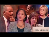 There's a Direct Line from Obama, Holder, Rice, Lerner, and Clinton to FBI Scandals