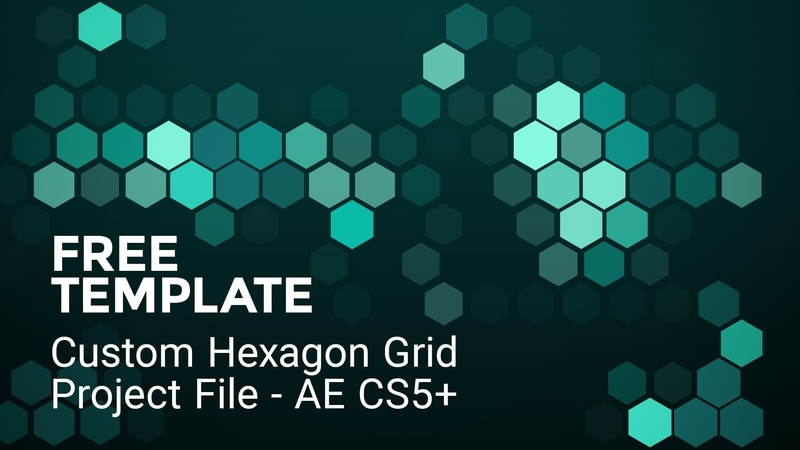 Free Hex Grid - After Effects Freebie
