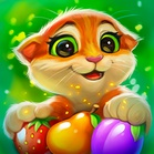 Garden Pets - бесплатная игра 3 в ряд