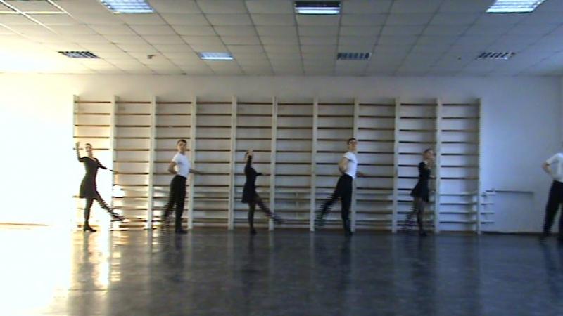 Народный Сценический Танец 2 курс зима 2014 год