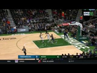 Minnesota Timberwolves vs Milwaukee Bucks Full Game Highlights _ 10.12.2018, NBA