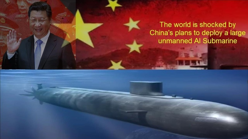The world is shocked by China to deploy unmanned AI submarines in the near future.