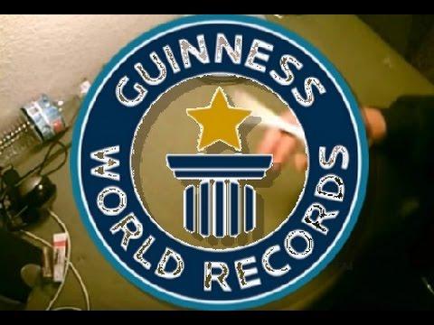 PEN SPINNING WORLD RECORDS