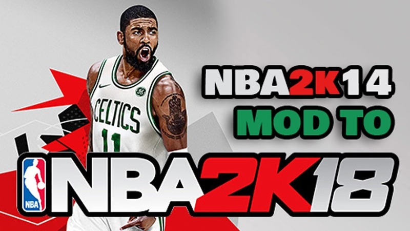 NBA 2k14 MOD TO NBA 2k18 Android Gameplay Download LINKS APK OBB