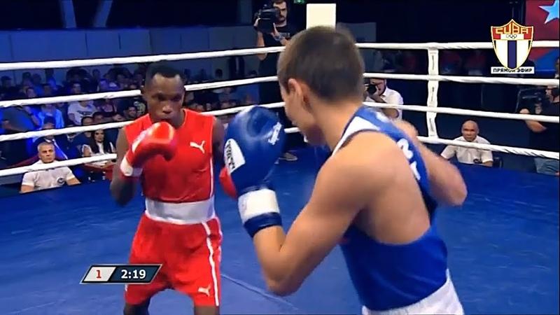 49kg Vasily YEGOROV (RUS) vs Damian ARCE DUARTE (CUB) - 13 de Septiembre 2018