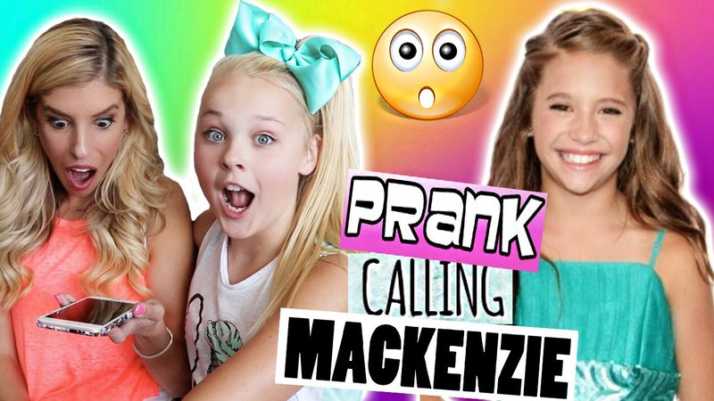 Prank Calling Mackenzie Ziegler!