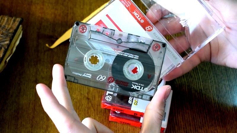 Аудиокассеты TDK с Aliexpress! Распаковка